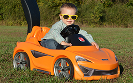 Vehicul McLaren 570s - Push Around
